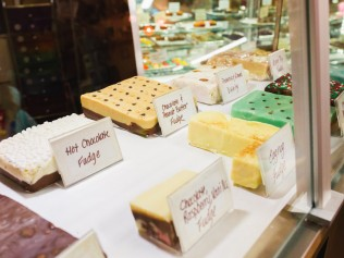Fudge Prices1/4 lb. $3.50 1/2 lb. $6.50 1lb. $12.50