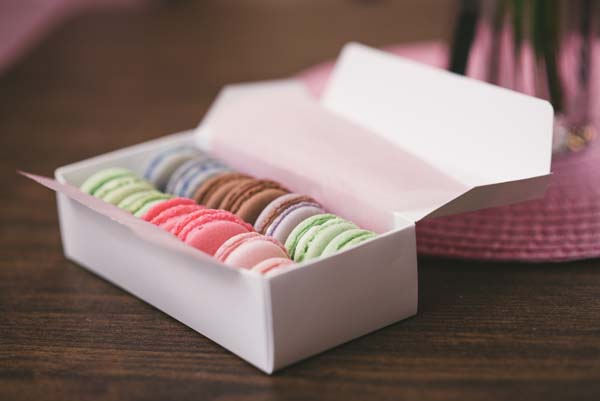 French Macarons $1.50 each.